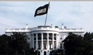 isis flag white house