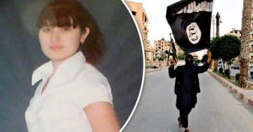 ISIS Fighter With Brain Cancer Plans to Take Out a Few Infidels With Her When She Goes