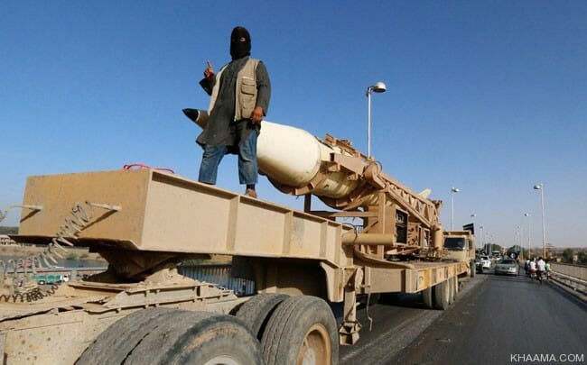 isis missile