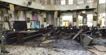 ISIS SUICIDE BOMBERS Attack Cathedral of Our Lady of Mount Carmel in Jolo, Philippines — At Least 20 Dead