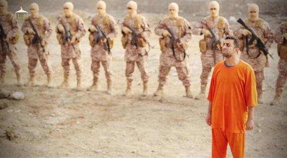 Governorate was pictured in an orange jumpsuit before his death