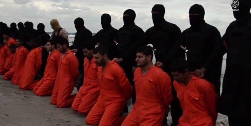 isis slaughter copts
