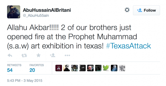 isis takes credit texas attack