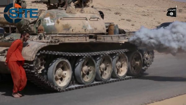 SADISTIC! ISIS Runs Over Syrian Hostage with a Tank in Latest Video (Photos)