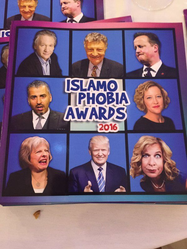 islamophobe awards