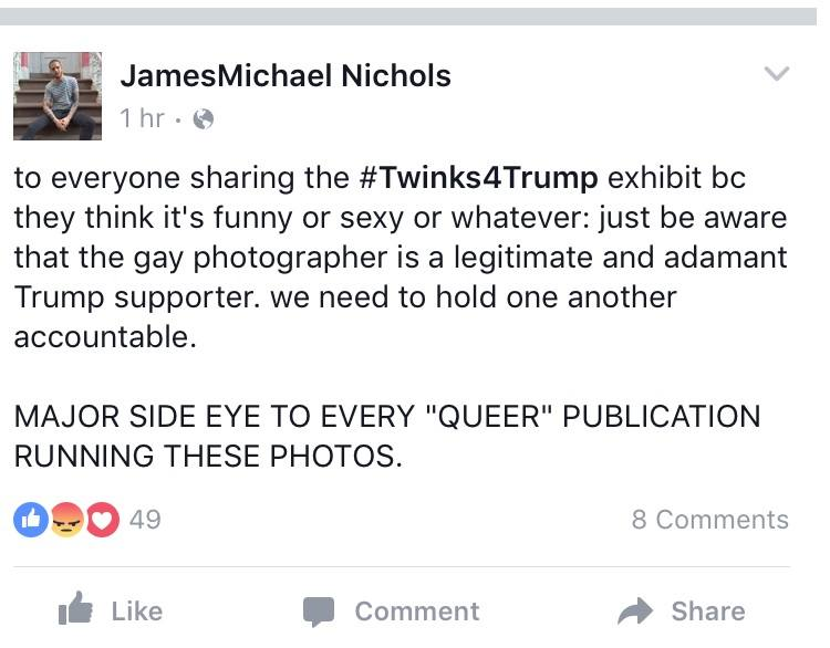 james michael nichols