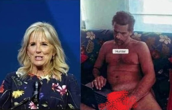 WOW! Jill Biden's Dress Looks EXACTLY Like Hunter Biden's Crack Couch — AND IT WAS ON THE COVER OF VOGUE!