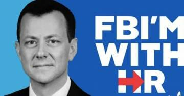 """BREAKING: FIVE MONTHS Worth of Peter Strzok Text Messages GO MISSING – FBI Cites Mystery """"Glitch"""""""