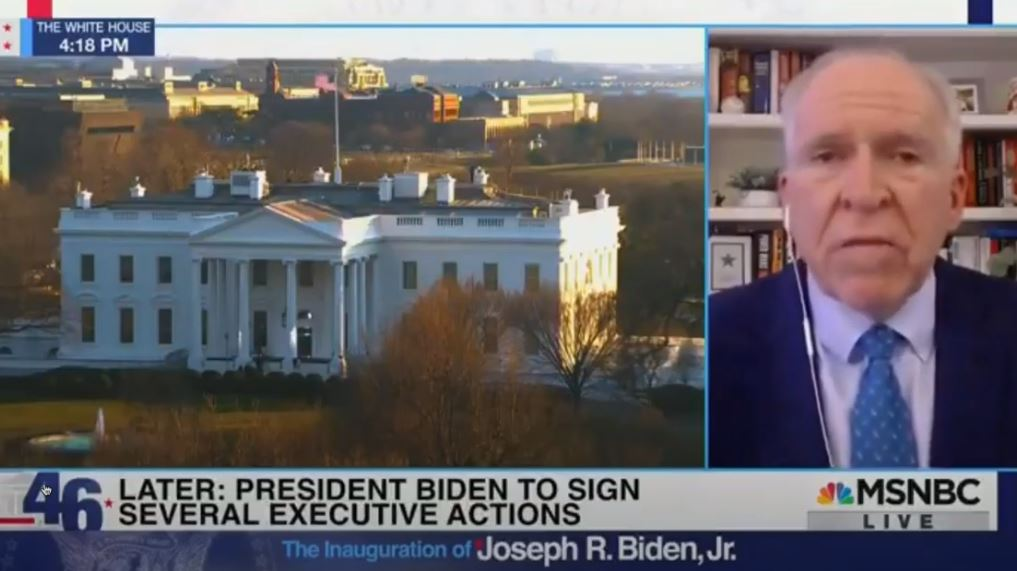 "HUGE! John Brennan Gives the Plan Away: Biden Officials Moving in ""Laser Light Fashion"" to Identify and ""Root Out"" Political Opposition from Population (VIDEO)"