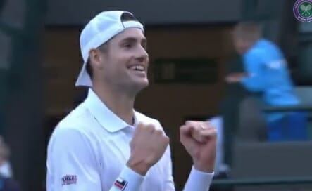 """photo image US Tennis Star John Isner: """"That Would Be Awesome"""" if Trump Comes to Watch Him at Wimbleton (VIDEO)"""