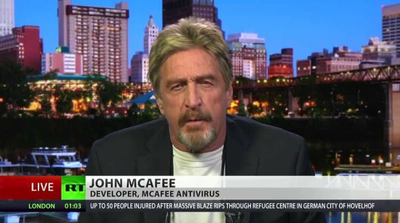 BREAKING: Software Creator John McAfee Found Dead in His Prison Cell in Spain in Apparent Suicide