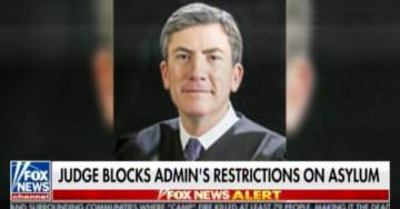 Update: Obama-Appointed San Francisco Judge *From England* Blocks Trump From Refusing Asylum to Migrants Outside of Ports of Entry (VIDEO)