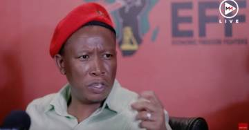 Julius Malema: White Privilege and Racism Prevents Whites From Giving Up Property without Compensation — Calls for Black Unity
