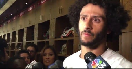 "Nike Spokesman Colin Kaepernick's Independence Day Message: ""We Reject Your Celebration of White Supremacy"" (Video)"