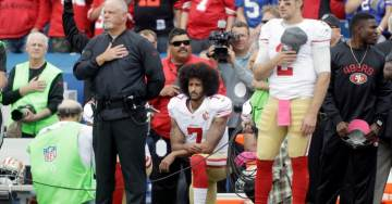 Cop-Hater Colin Kaepernick Wins Emmy for Outstanding Commercial for His America-Bashing Nike Ad