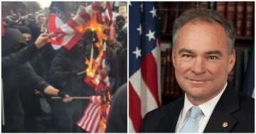 EXCLUSIVE: Senator Tim Kaine Condemns Antifa Violence – After His Son Was Arrested in Antifa Riot