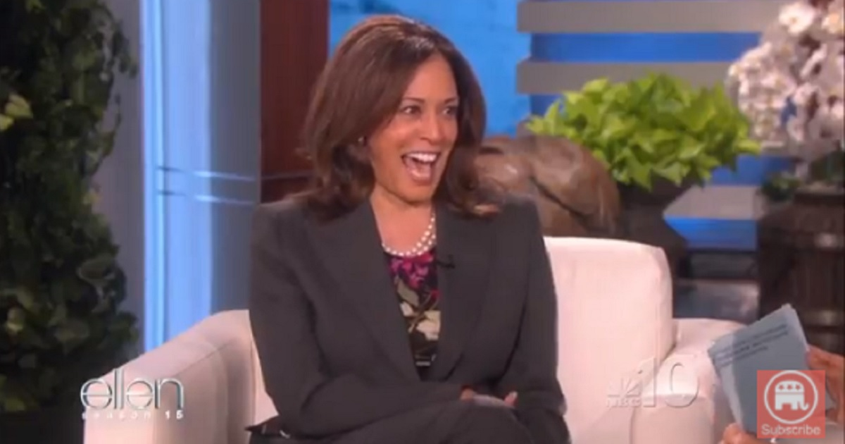 REMINDER: Kamala Harris Joked About Killing President Trump and Then Let Out a Horrible Cackle – Is This Impeachable?