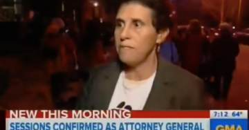 "FIGURES. Christine Ford's Attorney is Unhinged Nutbag — Seen at Anti-Trump Protest Spouting Off ""Resist"" Garbage (VIDEO)"