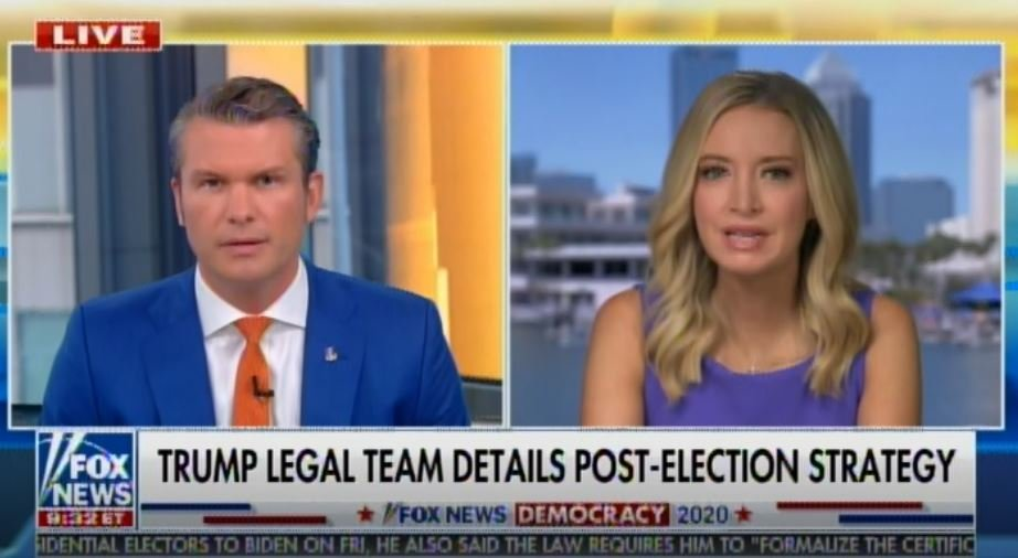 Kayleigh McEnany tells Pete Hegseth the Trump Team Will Push Equal Protection Clause in Court (Video)
