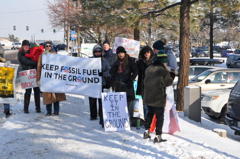 keep-it-in-the-ground-snow-protest