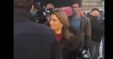 """One of the Biggest Rallies I've Ever Seen!"" – NBC's Far Left Reporter Katy Tur Caught on Video at Trump Rally in Hershey, PA"