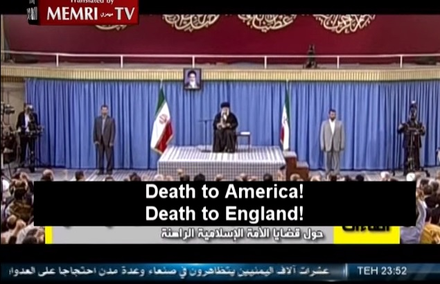 khamenei death to america