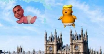 Brilliant! Online Campaign to Raise Cash for 'Baby Khan' Blimp During Trump Visit Smashes £10k Target