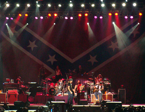 kid rock rebel flag