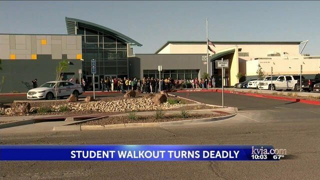 11-Year-Old 6th Grade Boy Hit Killed by Vehicle During Anti-Gun National School Walkout in El Paso