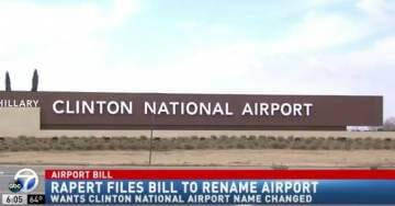 Lawmaker Pushes to REMOVE Clinton's Name from Little Rock's Airport (VIDEO)