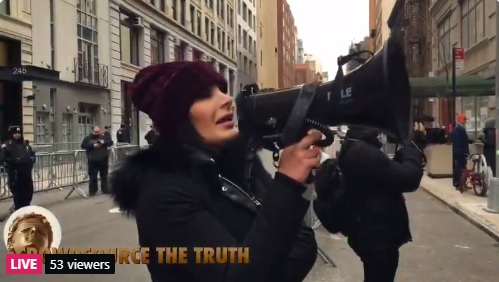 LIVE VIDEO: Conservative Activist Laura Loomer Takes on Twitter – Holds Protest Outside NYC Headquarters