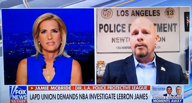 """LA Police Union Urges NBA to Investigate LeBron James for """"Inciting Violence"""" Against Ohio Police Officer"""