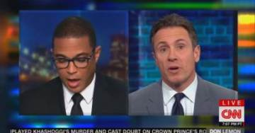 WATCH: CNN's Cuomo Calls Lemon 'Petty and Small' for Saying He Wouldn't Have Shaken Trump's Hand at Bush Funeral