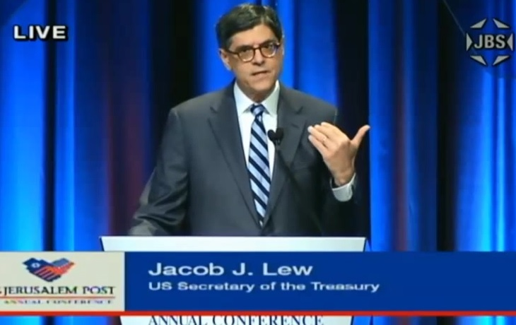 lew iran heckled