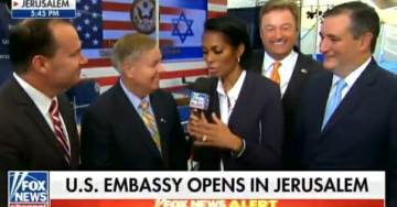 """Lindsey Graham: If You Got a Problem with US Embassy in Jerusalem """"Take it Up with God"""" (VIDEO)"""