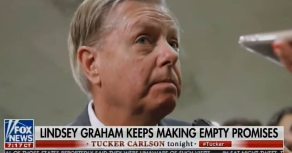 "LIAR and TRAITOR Lindsey Graham Doubles Down — Says He Will Call ""No Witnesses"" to Senate Hearings, GIVES DEMOCRATS, DEEP STATE A COMPLETE PASS!"