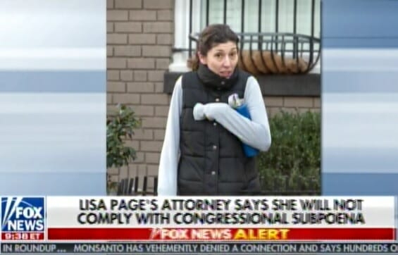 photo image ARREST HER NOW! Lisa Page Lied — Her Team DID REVIEW Requested Documents at FBI on Tuesday