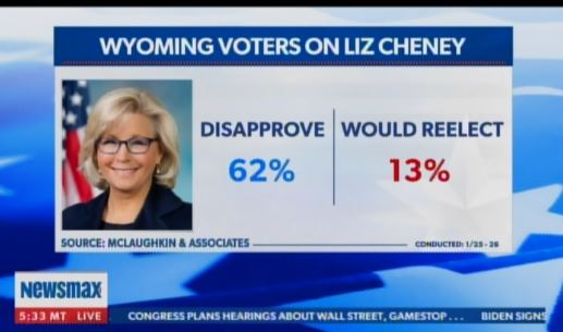 Support for Trump-Hater Liz Cheney Drops Like a Rock in Wyoming – Only 13% Would Vote to Reelect Darling of GOP Elites