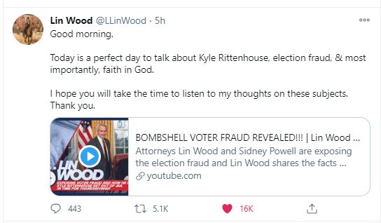 "llin-wood-wild-interview ""Every Lie Will Be Revealed – They're Going to be Shocked at Level of P*dophilia – Satanic Worship"" – Lin Wood Does Not Hold Back in EXPLOSIVE ""Thrive Time"" Interview (VIDEO) Featured Top Stories [your]NEWS"
