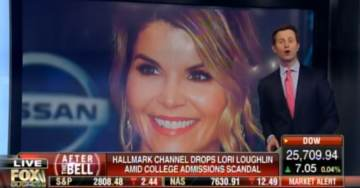 Hallmark Channel Fires Actress Lori Loughlin Over College Cheating Scandal