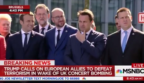 Shameful: French President Macron Snickers as Trump Tells NATO Members to Pay Their Fair Share (VIDEO)