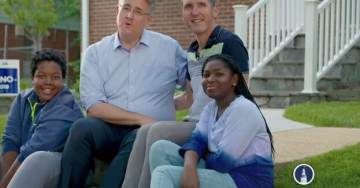 Maryland Democrat Airs First Campaign Ad Ever with Same-Sex Kiss to 'Piss Off' Trump, Republicans