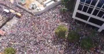 BREAKING: HUNDREDS OF THOUSANDS Protest Failed Socialist Regime in Caracas (VIDEO)
