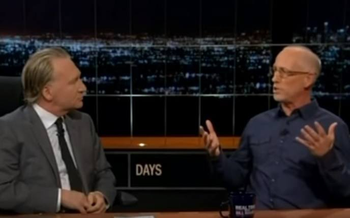 Dilbert Creator Scott Adams on Real Time with Bill Maher: Trump Will Win Election in a Landslide (VIDEO)