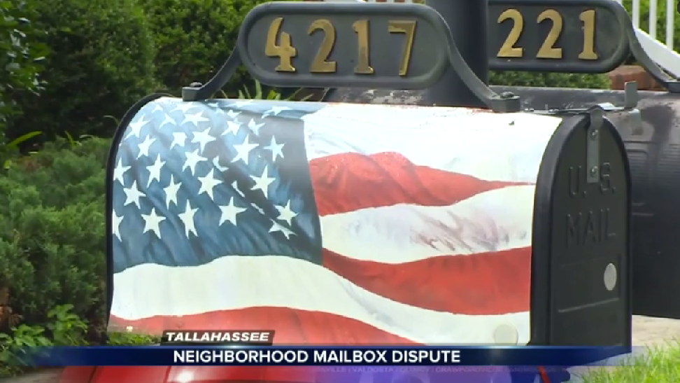 U.S Navy Vet Ordered to Remove American Flag from His Mailbox by Liberal Bullies