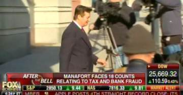 BANANA REPUBLIC: Paul Manafort Is Being Held in Tiny Prison Cell with No Reading Material or TV During Trial (VIDEO)