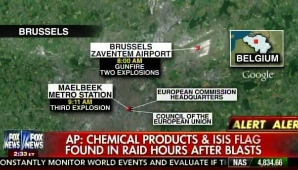 map bombs brussels