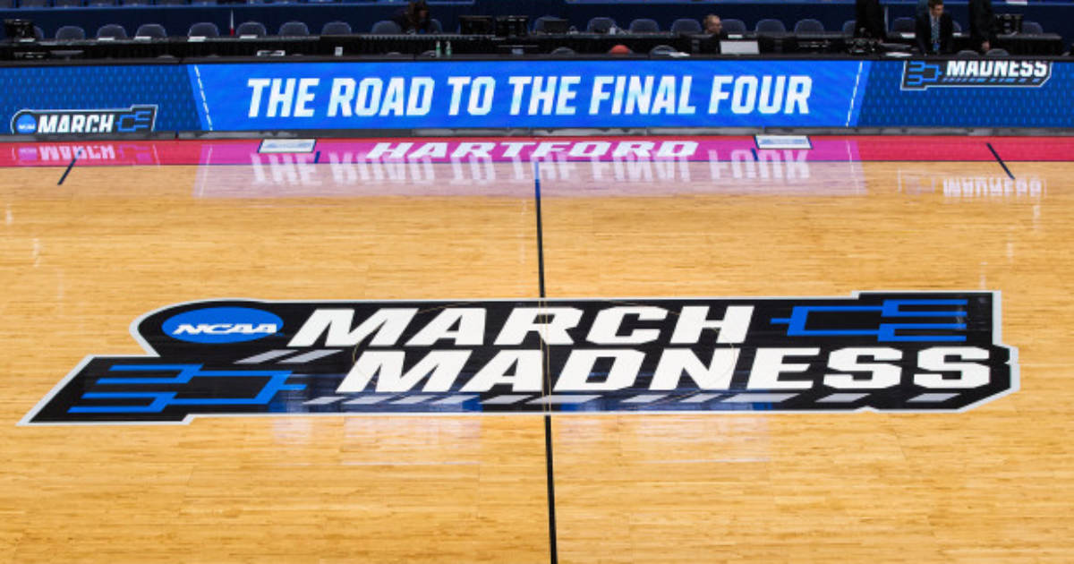 madness march canceled coronavirus due marchmadness cancelled ncaa season outbreak nba nhl basketball bracket shows which torneos simulation getty sports