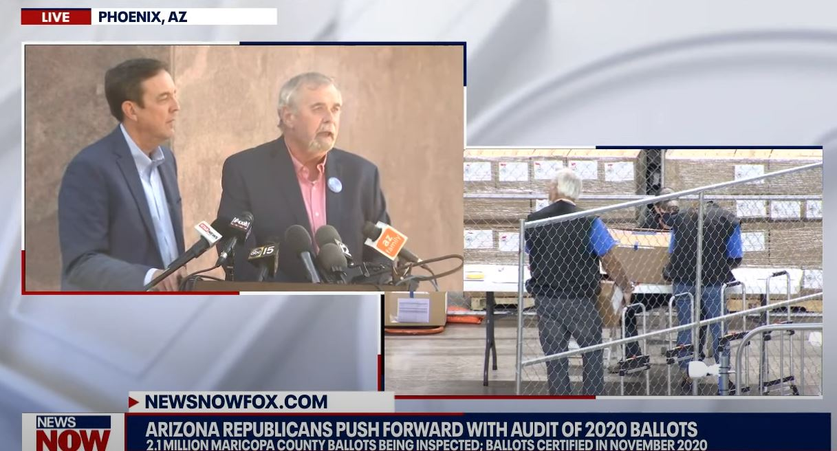 """BREAKING — LIVE STREAM VIDEO: Maricopa County, Arizona Audit Update — """"TENS OF THOUSANDS, SHY OF 100,000 BALLOTS"""" INSPECTED SO FAR!"""