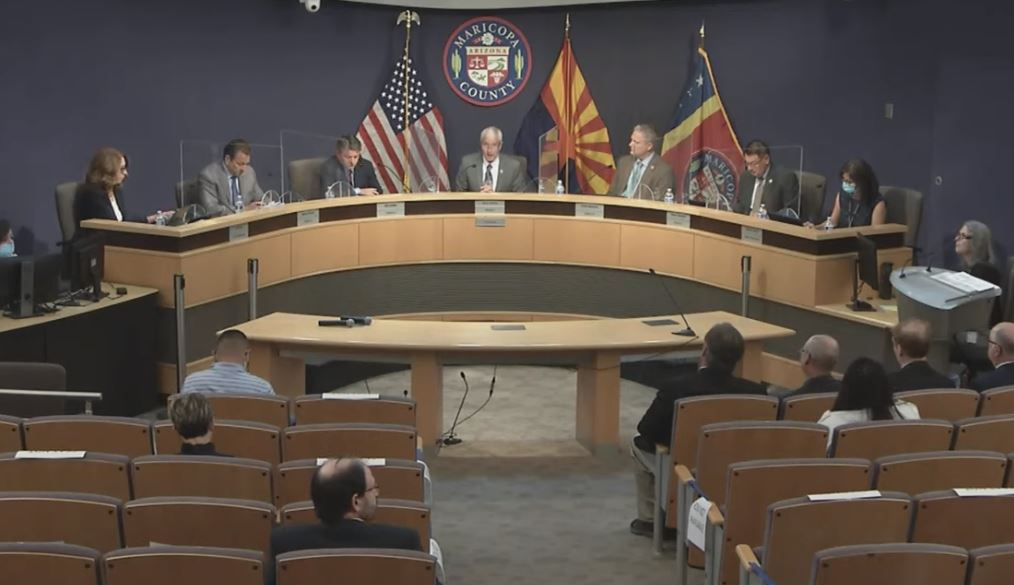Breaking: Maricopa County's Attorney Office Writes Senate Leader Karen Fann - Requests ALL DOCUMENTS Regarding Deleted Election Database Directory